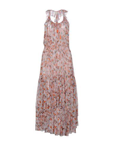 PINKO | Светло-розовый Светло-розовое платье длиной 3/4 PINKO Креп | Clouty