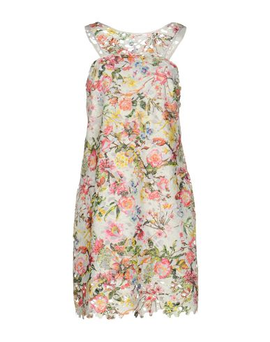 Cristina Effe   Белый Женское белое короткое платье CRISTINAEFFE кружево   Clouty