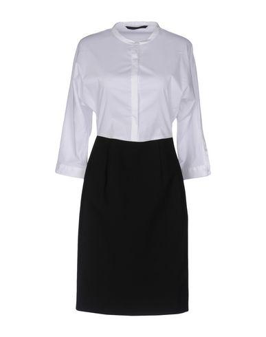 Silvian Heach | Белый Белое короткое платье SILVIAN HEACH плотная ткань | Clouty