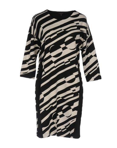La Fee Maraboutee | Черный Женское черное короткое платье LA FEE MARABOUTEE вязаное изделие | Clouty