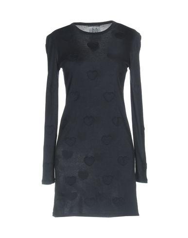 Zoe Karssen   Темно-синий Темно-синее короткое платье ZOE KARSSEN джерси   Clouty
