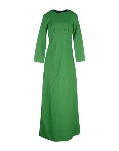 MERCHANT ARCHIVE | Зеленый Женское зеленое длинное платье MERCHANT ARCHIVE плотная ткань | Clouty