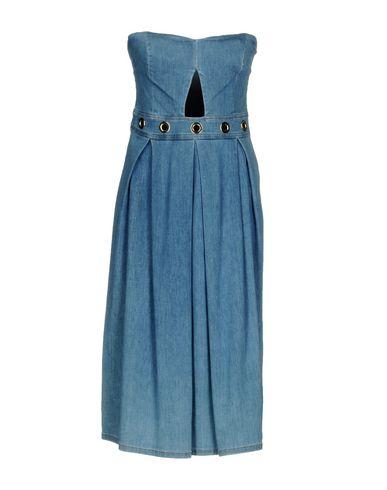 Liu•Jo | Синий Женское синее платье до колена LIU •JO деним | Clouty
