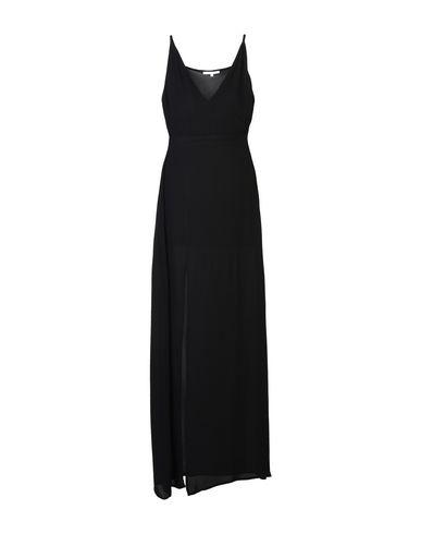 Koralline | Черный Женское черное длинное платье KORALLINE креп | Clouty