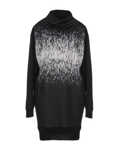 Demoo Parkchoonmoo | Черный Женское черное короткое платье DEMOO PARKCHOONMOO вязаное изделие | Clouty