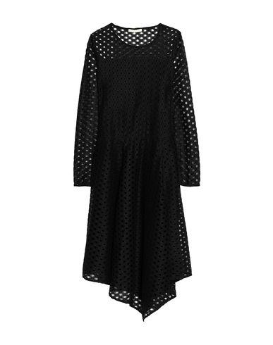 Maje | Черный Черное платье до колена MAJE тюль | Clouty
