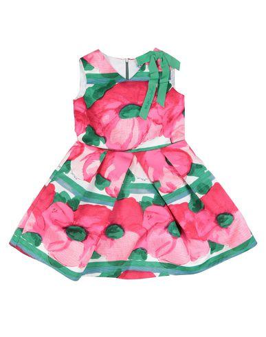 Mi Mi Sol | Фуксия Детское платье MIMISOL грогрен | Clouty