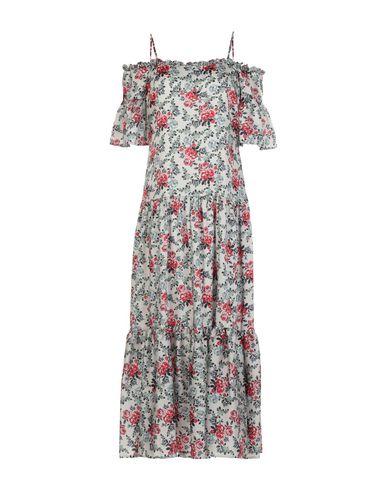 Silvian Heach | Бежевый Бежевое платье длиной 3/4 SILVIAN HEACH атлас | Clouty