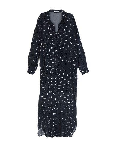 5Preview   Темно-синий Темно-синее длинное платье 5PREVIEW шифон   Clouty