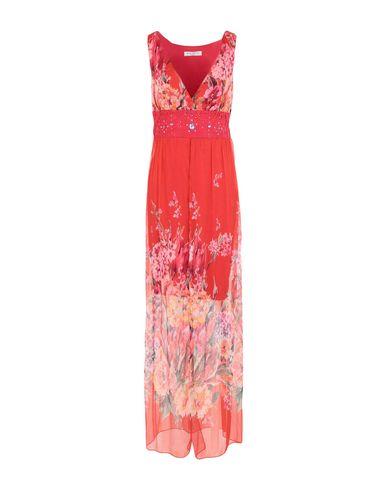 Sonia Fortuna | Красный Красное длинное платье SONIA FORTUNA Кружево | Clouty