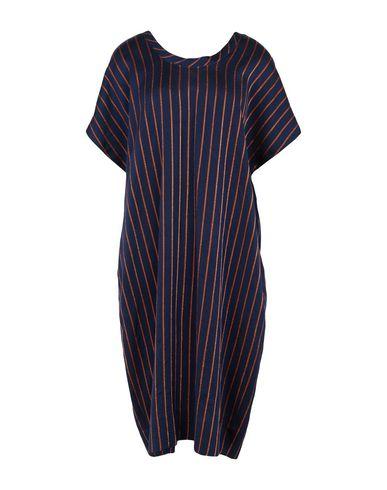 New York Industrie | Темно-синий Женское темно-синее платье до колена NEW YORK INDUSTRIE твил | Clouty