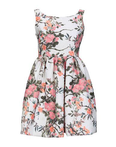 Io Couture   Белый Женское белое короткое платье IO COUTURE Жаккардовая ткань   Clouty