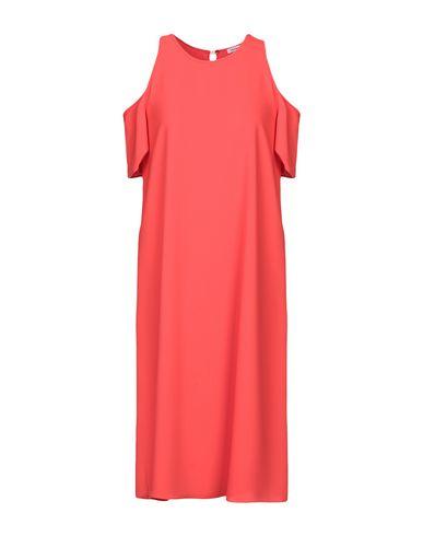 P.A.R.O.S.H. | Красный Женское красное платье до колена P.A.R.O.S.H. креп | Clouty