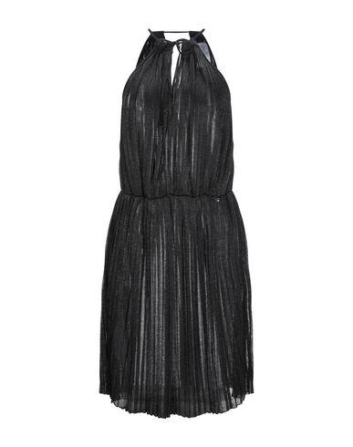 Liu•Jo   Черный Женское черное платье до колена LIU •JO вязаное изделие   Clouty