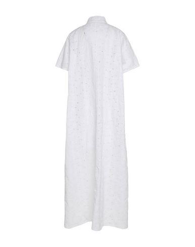 Labo.Art | Белый Женское белое длинное платье LABO.ART кружево | Clouty