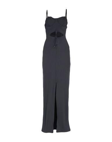 Fenty X Puma | Черный Женское черное длинное платье FENTY PUMA by RIHANNA джерси | Clouty