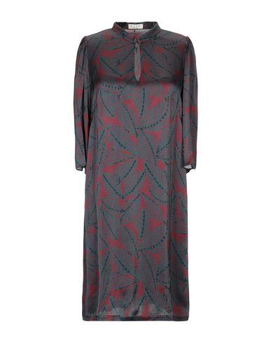 Siyu | Цвет морской волны Короткое платье SIYU атлас | Clouty