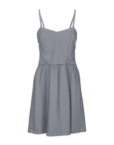 Patrizia Pepe | Темно-синий Темно-синее короткое платье PATRIZIA PEPE жаккардовая ткань | Clouty
