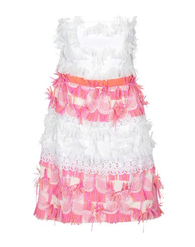 Maria Grazia Severi | Белый Белое короткое платье MARIA GRAZIA SEVERI кружево | Clouty