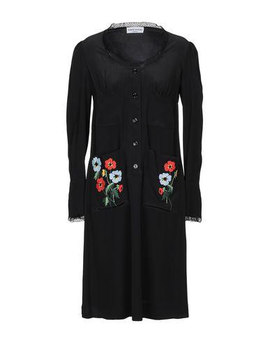 Sonia Rykiel | Черный Женское черное платье до колена SONIA RYKIEL кружево | Clouty