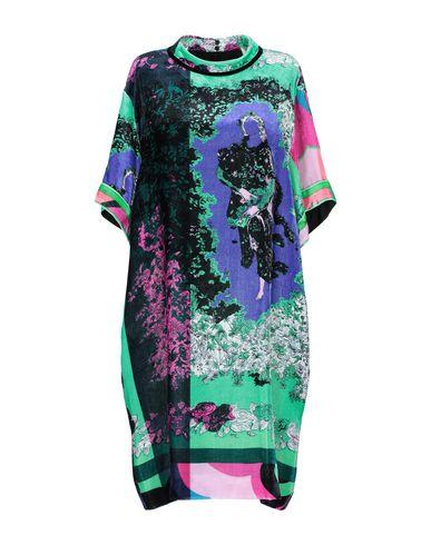 Emilio Pucci | Светло-зеленый Женское светло-зеленое короткое платье EMILIO PUCCI бархат | Clouty