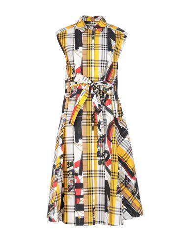 BURBERRY | Желтый Желтое платье длиной 3/4 BURBERRY плотная ткань | Clouty
