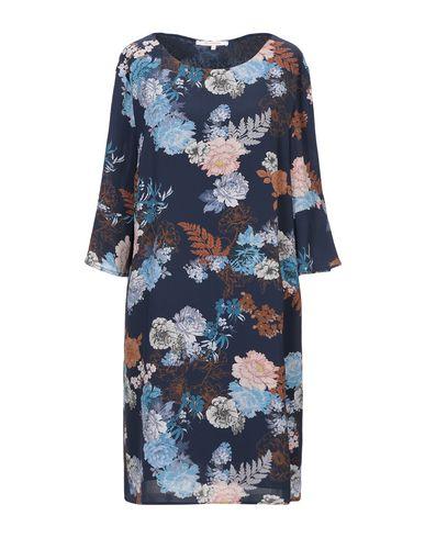 La Fee Maraboutee | Синий Синее короткое платье LA FEE MARABOUTEE креп | Clouty