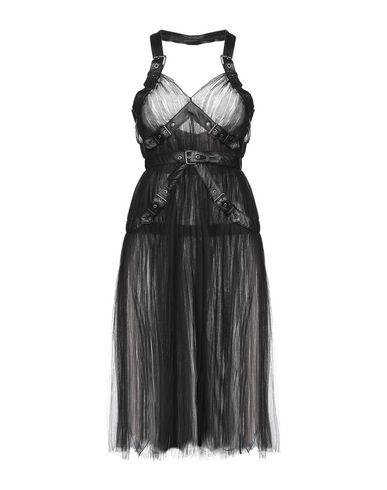 MOSCHINO | Черный Женское черное короткое платье MOSCHINO тюль | Clouty