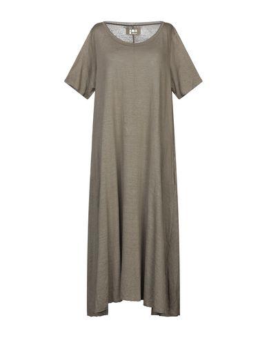 Labo.Art | Зеленый-милитари Женское платье длиной 3/4 LABO.ART джерси | Clouty