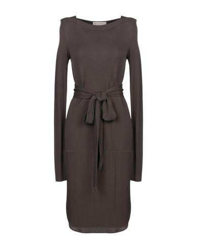 Emilio Pucci | Темно-коричневый Темно-коричневое платье до колена EMILIO PUCCI джерси | Clouty