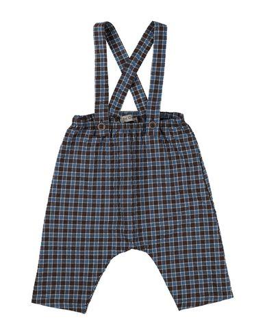 DE CAVANA | Темно-коричневый Детские темно-коричневые комбинезоны DE CAVANA плотная ткань | Clouty