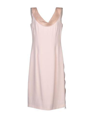 Botondi Milano | Светло-розовый Светло-розовое платье до колена BOTONDI MILANO креп | Clouty
