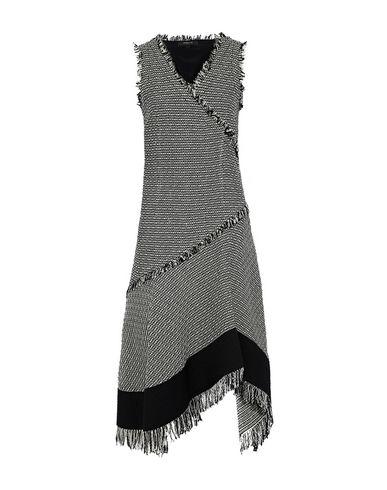 Derek Lam | Черный Черное платье до колена DEREK LAM твид | Clouty