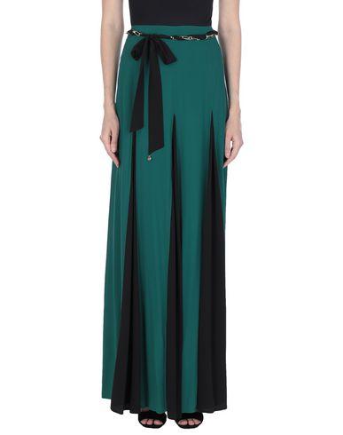 Cavalli Class | Зеленый Зеленая длинная юбка CAVALLI CLASS креп | Clouty