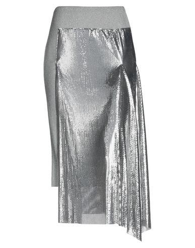 Paco Rabanne | Серый Женская серая юбка длиной 3/4 PACO RABANNE джерси | Clouty
