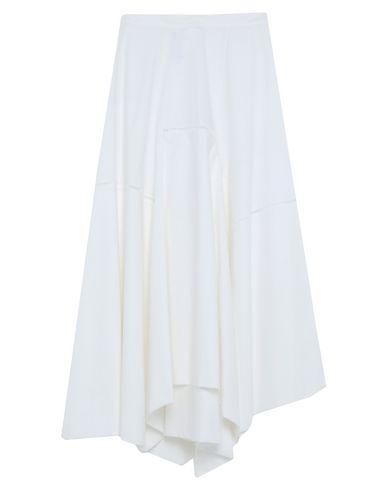 Loewe | Белый Белая длинная юбка LOEWE плотная ткань | Clouty