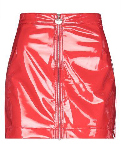 Chiara Ferragni | Красный Красная мини юбка CHIARA FERRAGNI искусственная кожа | Clouty