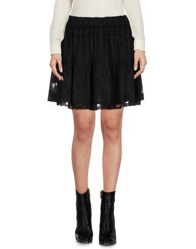IRO | Черный Женская черная мини юбка IRO креп | Clouty