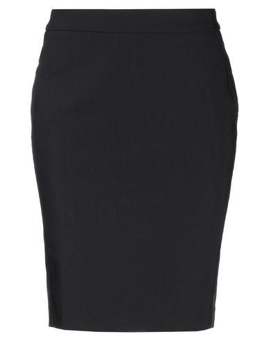 Henry Cotton'S | Черный Черная юбка до колена HENRY COTTON'S плотная ткань | Clouty