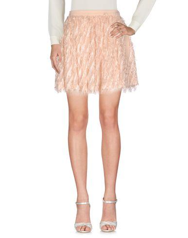 Baum und Pferdgarten   Светло-розовый Женская светло-розовая мини юбка BAUM UND PFERDGARTEN плотная ткань   Clouty