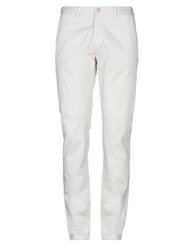 Peuterey | Светло-серый Мужские светло-серые повседневные брюки PEUTEREY классическая посадка на талии | Clouty