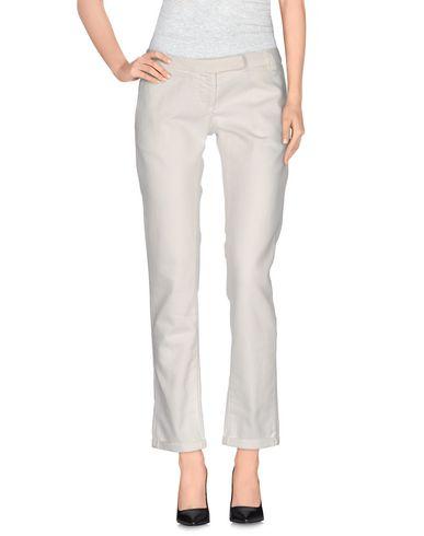 Brian Dales   Белый Женские белые джинсовые брюки BRIAN DALES деним   Clouty