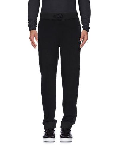 Hydrogen | Черный Мужские черные повседневные брюки HYDROGEN флис | Clouty