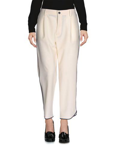 Jucca | Слоновая кость Женские повседневные брюки JUCCA плотная ткань | Clouty