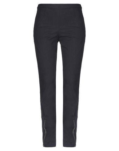 Grifoni | Черный Женские черные повседневные брюки MAURO GRIFONI твил | Clouty