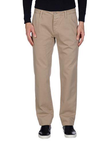 Peuterey | Голубиный серый Мужские повседневные брюки PEUTEREY габардин | Clouty