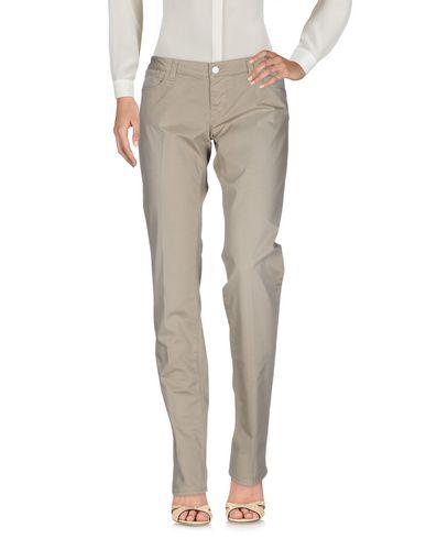 2W2M | Песочный Женские песочные повседневные брюки 2W2M плотная ткань | Clouty