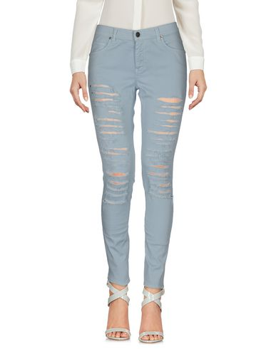 Gaëlle | Небесно-голубой Женские повседневные брюки GAeLLE Paris габардин | Clouty