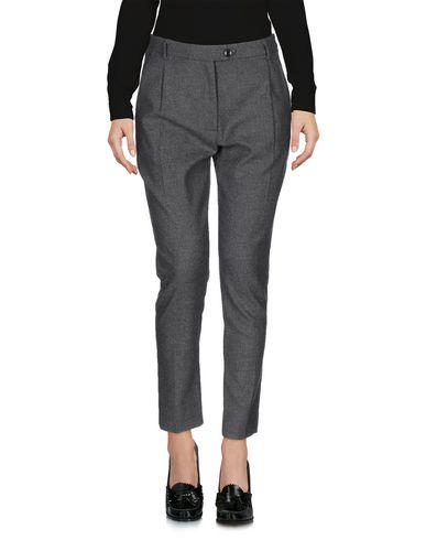 Jucca | Серый; Верблюжий Женские серые повседневные брюки JUCCA фланель | Clouty