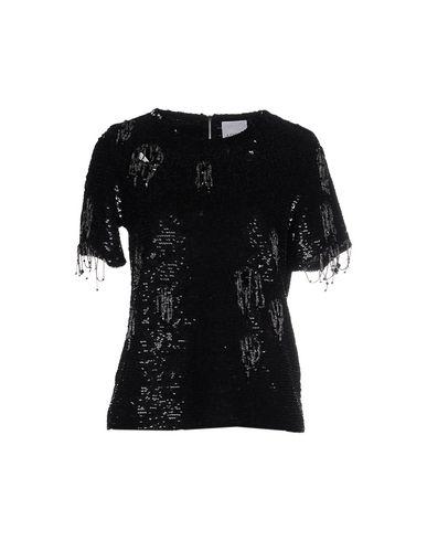 Ashish | Черный Женская черная блузка ASHISH креп | Clouty